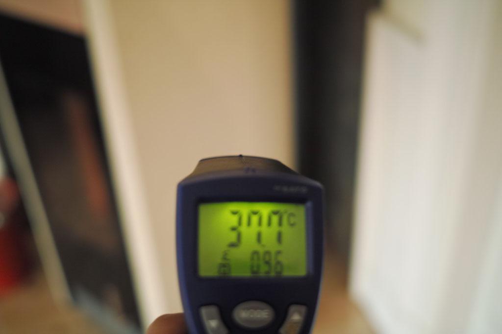 サイド下部38℃