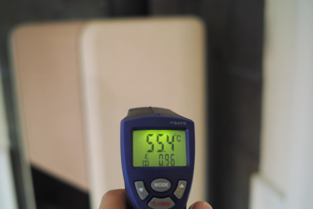 サイド中部55℃