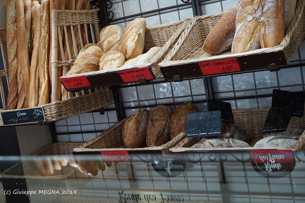 Divers pains de la boulangerie PREISLER