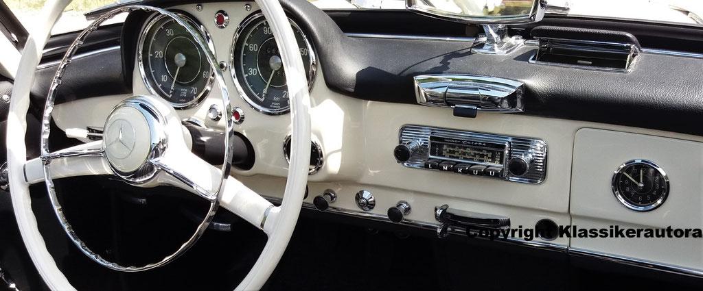 Becker Europa im Mercedes Benz 190 SL, Classic Oldtimer Gala Baden Baden 2017