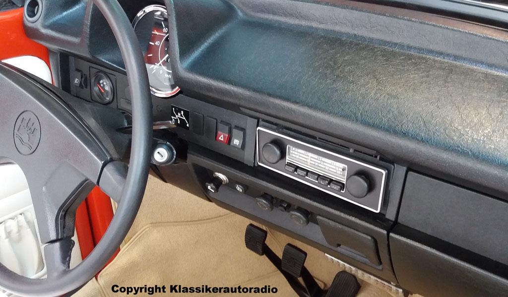 Grundig im VW