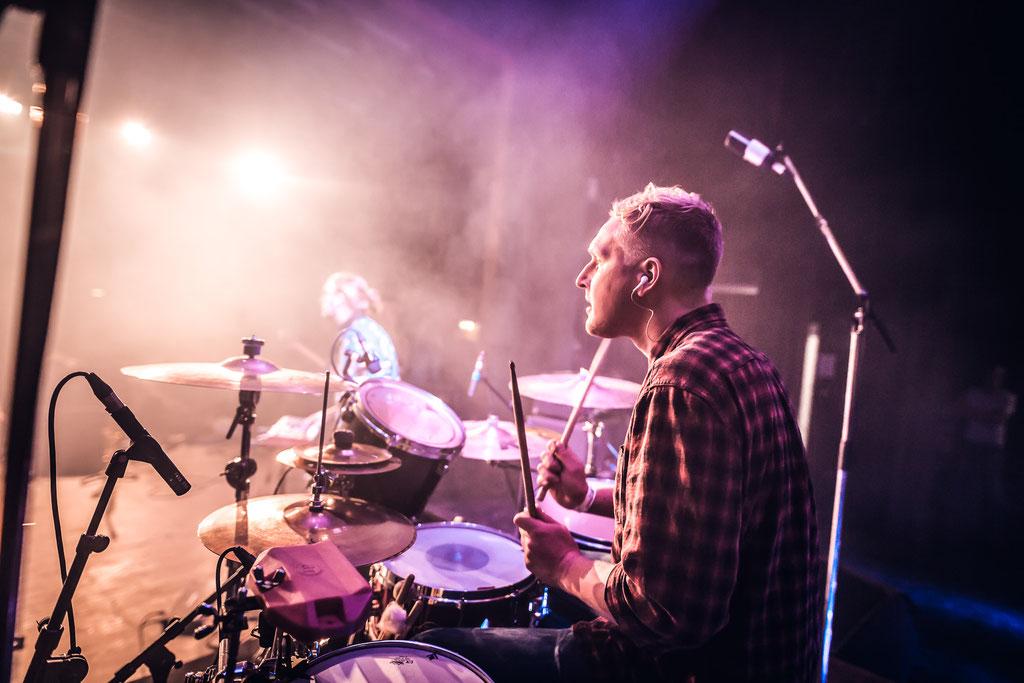 Henrik Fack - Drums (©Sascha Schröder)