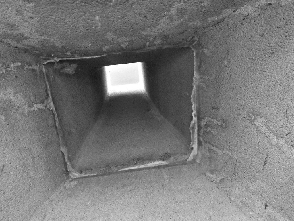 Einblick in Nachbars Kamin