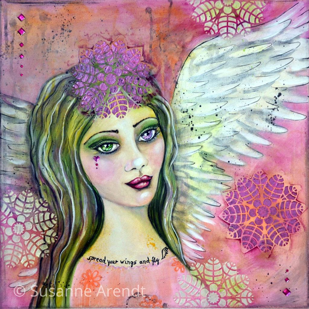 Spread your wings - verkauft