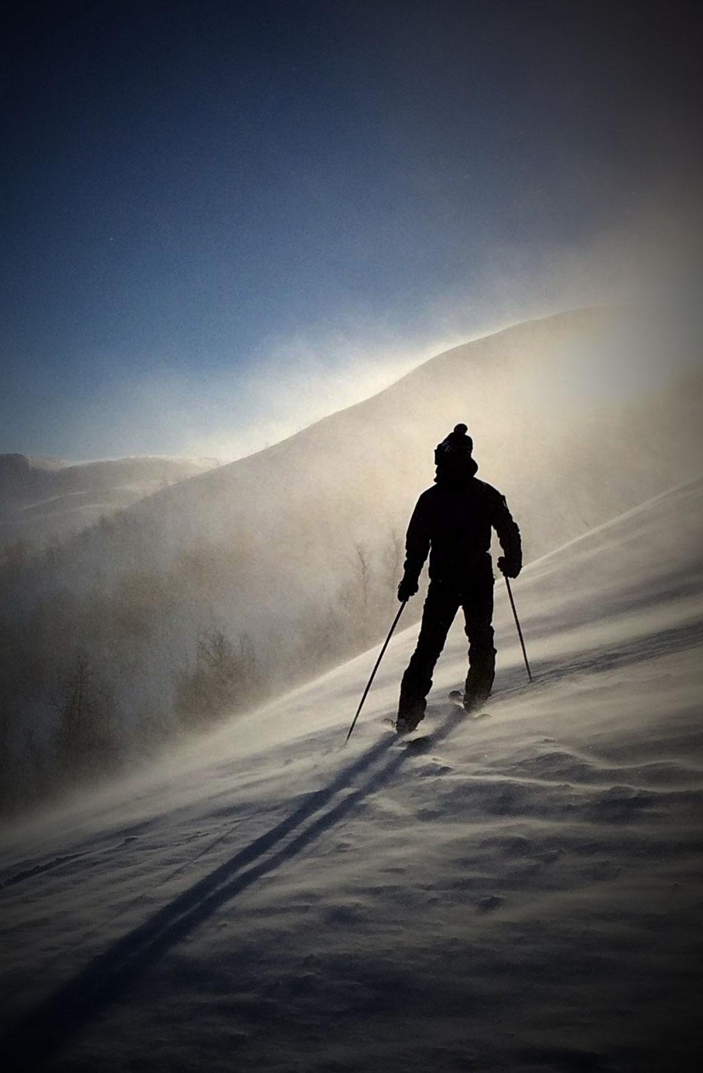 Le ski en liberté