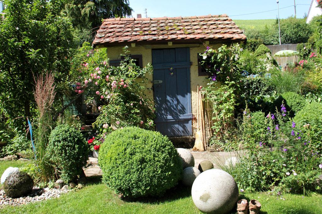 Auch bei Frau Rau wieder zahlreiche schöne Ideen für den heimischen Garten