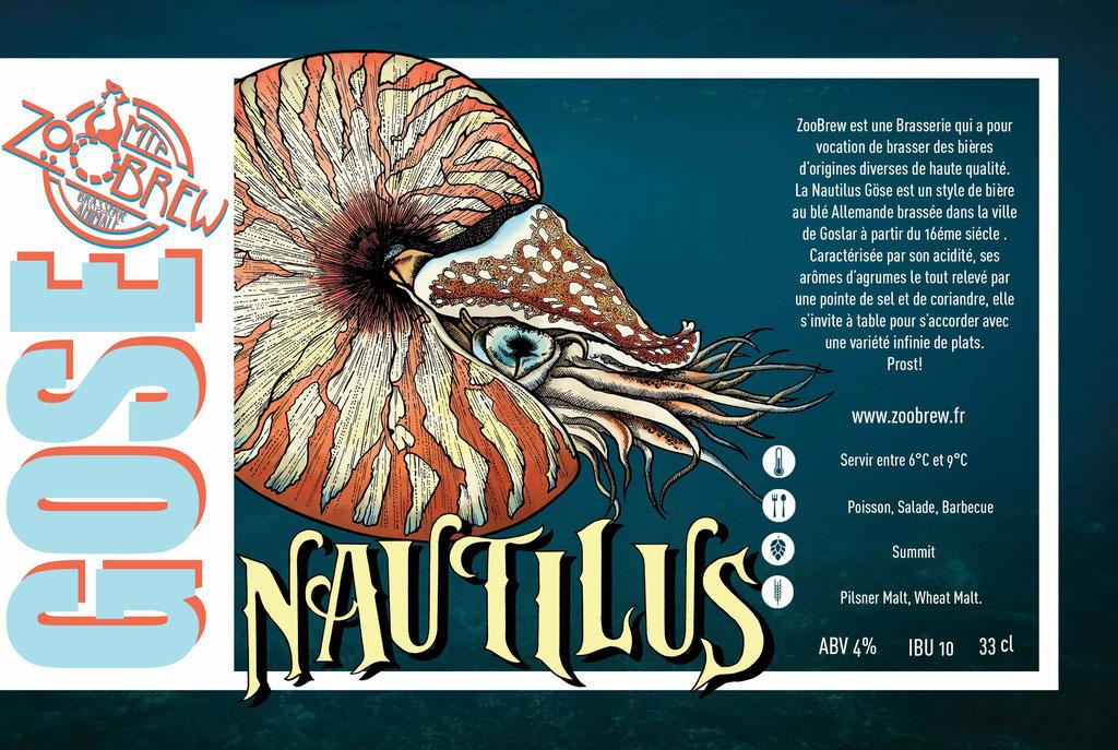 Nautilus gose ZooBrew Brasserie Animale Montpellier