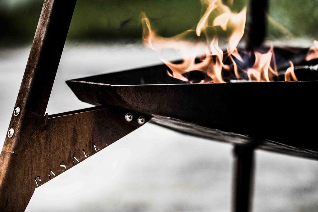 Basale. Een merk voor de echte levensgenieter. Ontwerp, creatie, branding door Sjors Mouthaan. Zie www.basale.eu