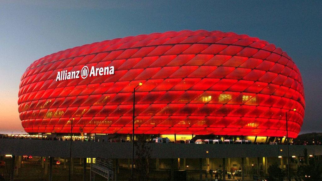 Allianz Arena à Munich, stade du Bayern Munich