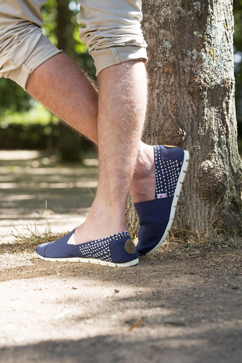 ©Rouchette-Enjoy-Classic-marine-etoile-chaussure-toile-canvas