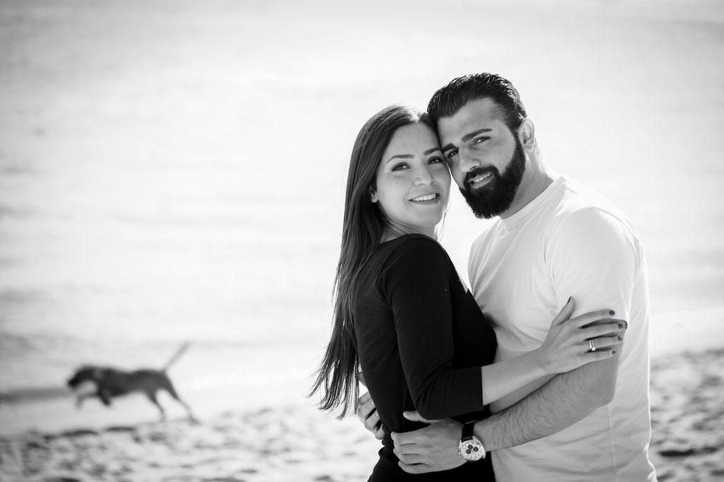 Emotionale Hochzeitsfotos - Kennnelern-Shooting in Rissen an der Elbe