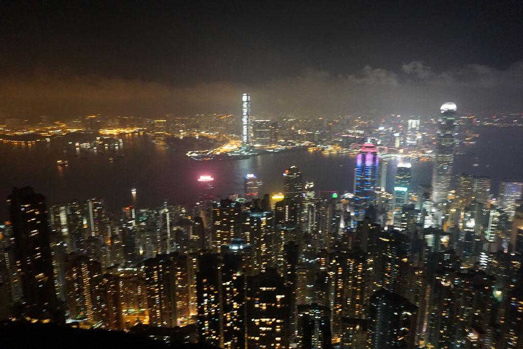 Skyline Hongkong Berg