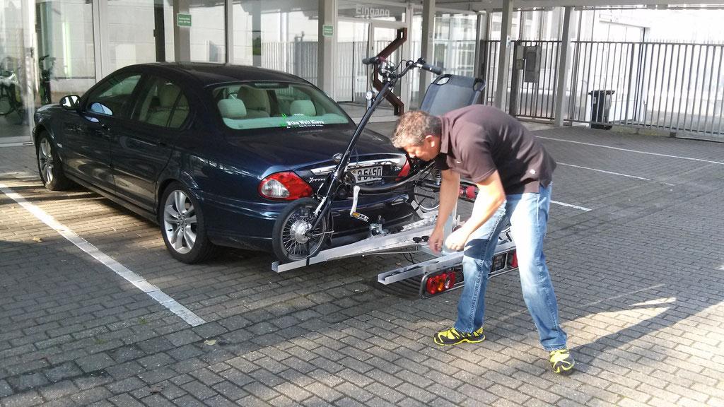 Dreirad Heckträger fürs Auto