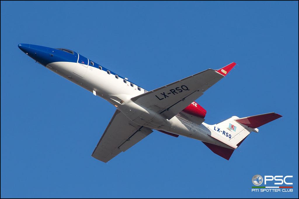 LX-RSQ Learjet 45XR 45-398 Ducair - European Air Ambulance S.A.