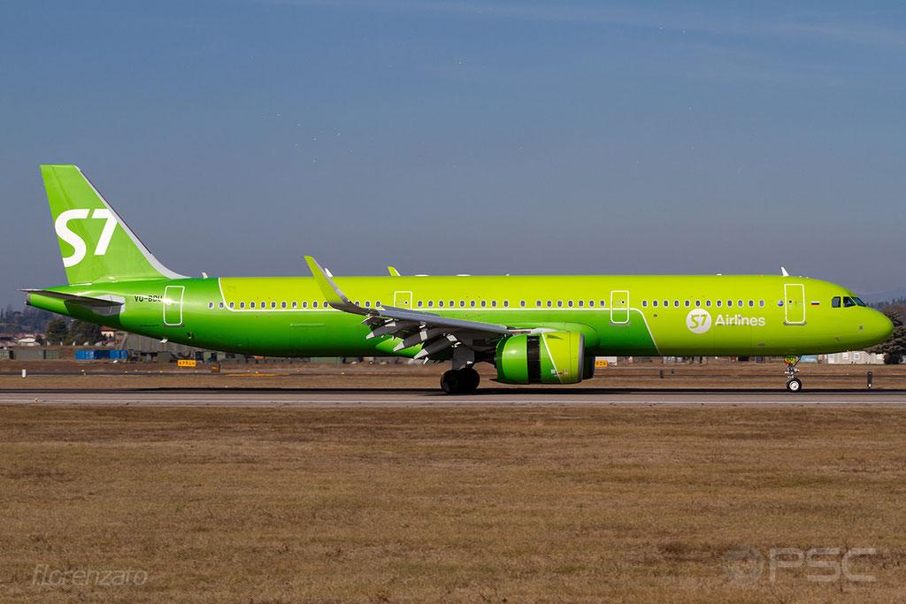 VQ-BDU A321-271N 8088 S7 Airlines @ Aeroporto di Verona 16.02.2019  © Piti Spotter Club Verona