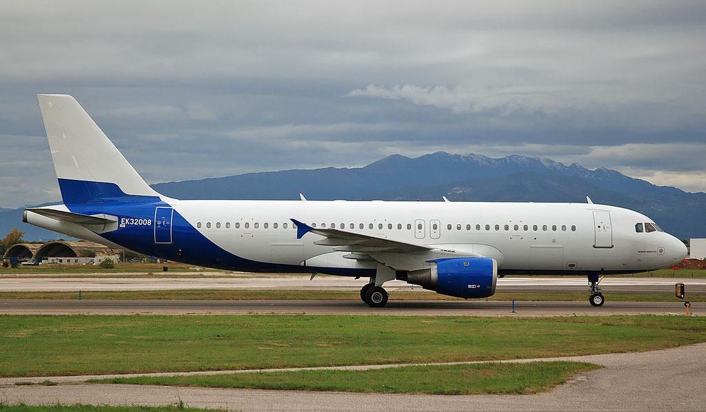 EK32008 A320-211 229 Ellinair lsf Atlantis European Airways
