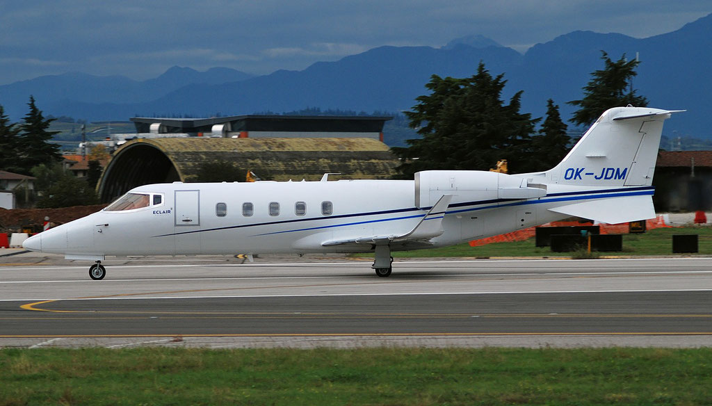 OK-JDM Learjet 60XR 60-330 Eclair Aviation