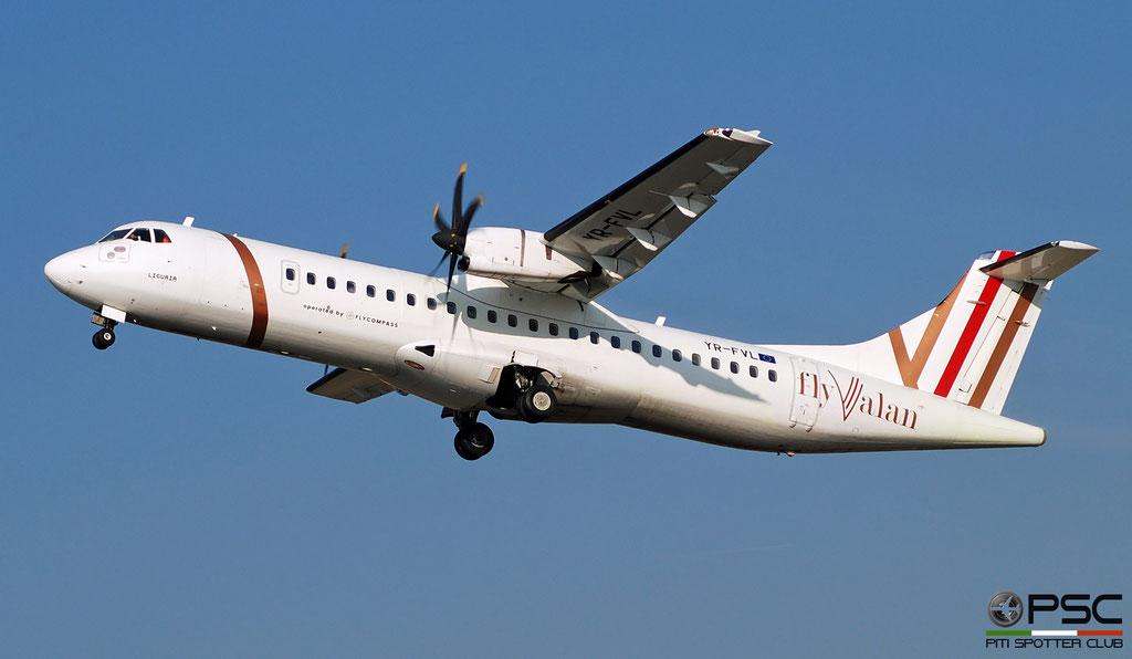 YR-FVL ATR72-212A 747 FlyValan