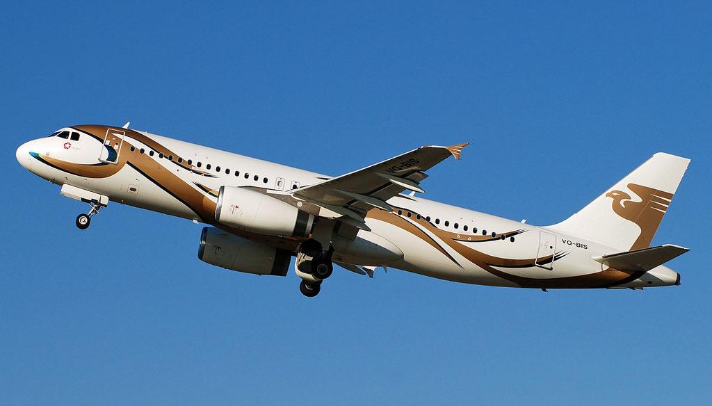VQ-BIS A320-232 3402 Meridian Air