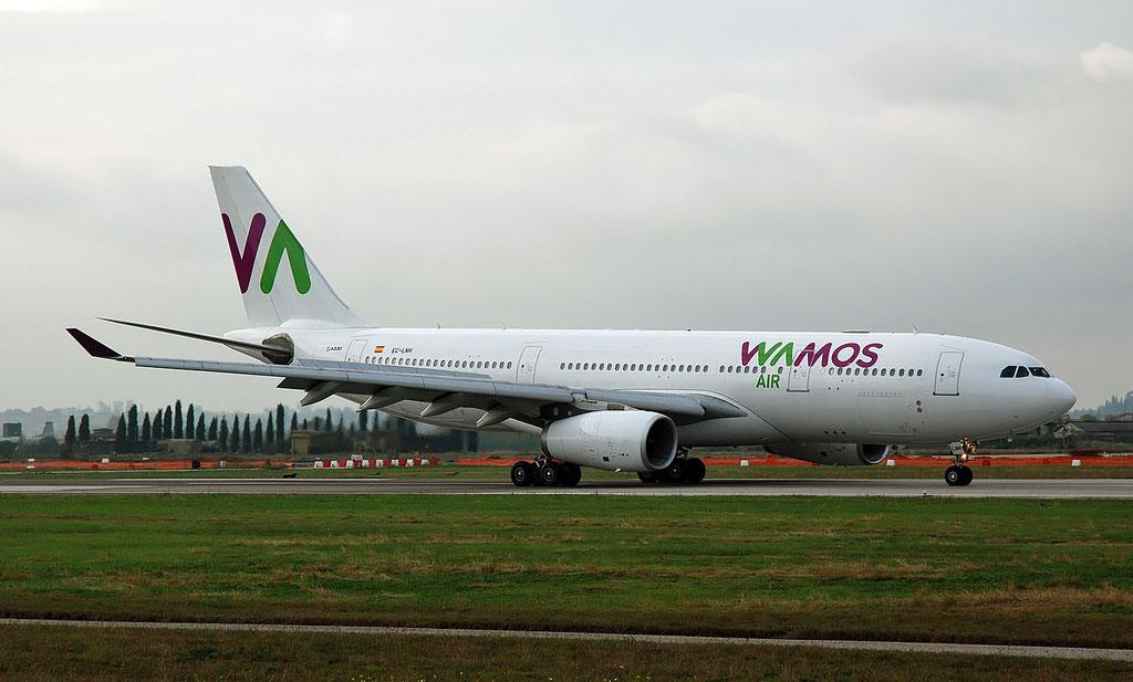 EC-LNH A330-243 551 Wamos Air