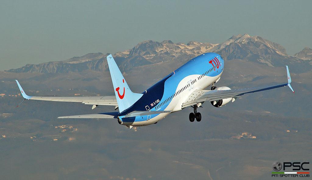 G-TAWX B737-8K5 44272/4827 TUI Airways