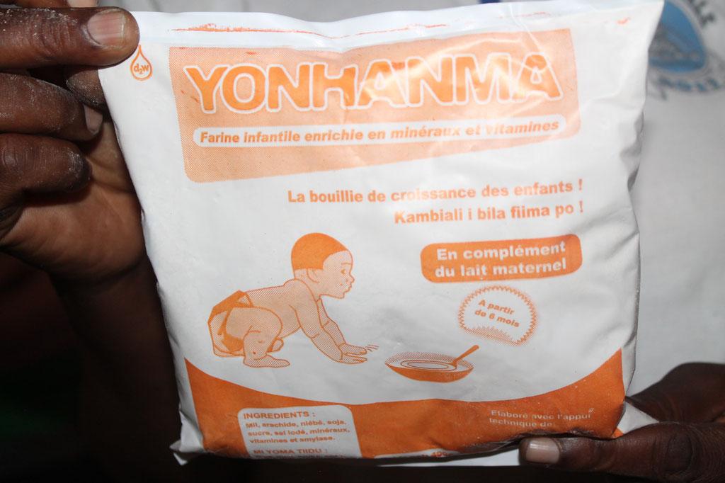 Angereicherte Nahrungsergänzung zur Kleinkindversorgung