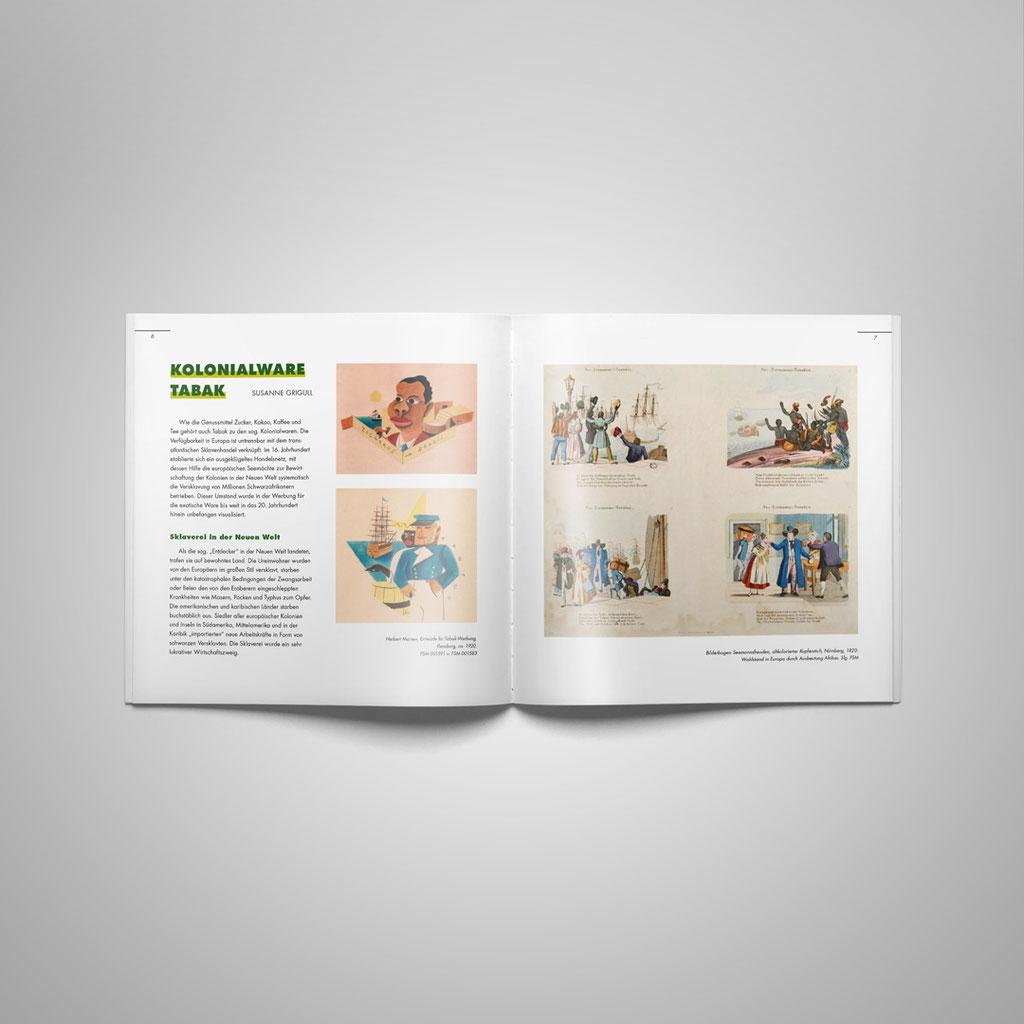 Der Katalog zur Ausstellung - mit vielen interessanten Innenseiten