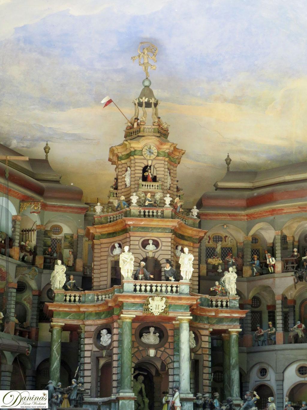Mit Wasser betriebenes mechanisches Theater - Hellbrunner Wasserspiele Salzburg
