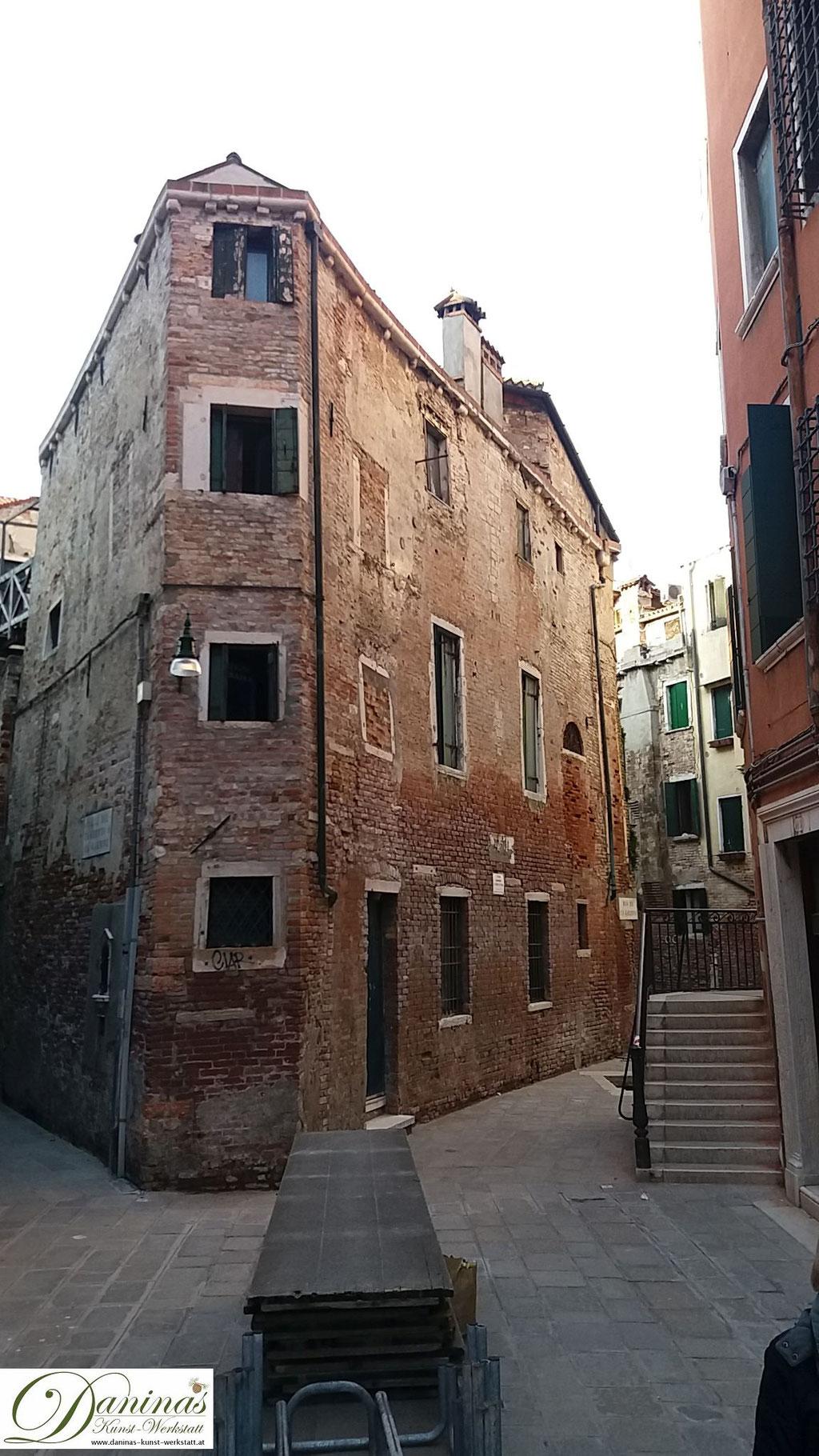 Venedig Hinterhof Gasse