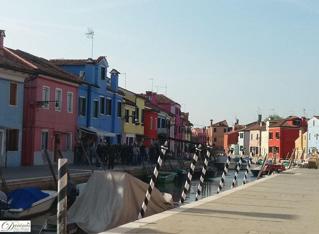 Burano - Venedigs Spitzenstickerei Insel