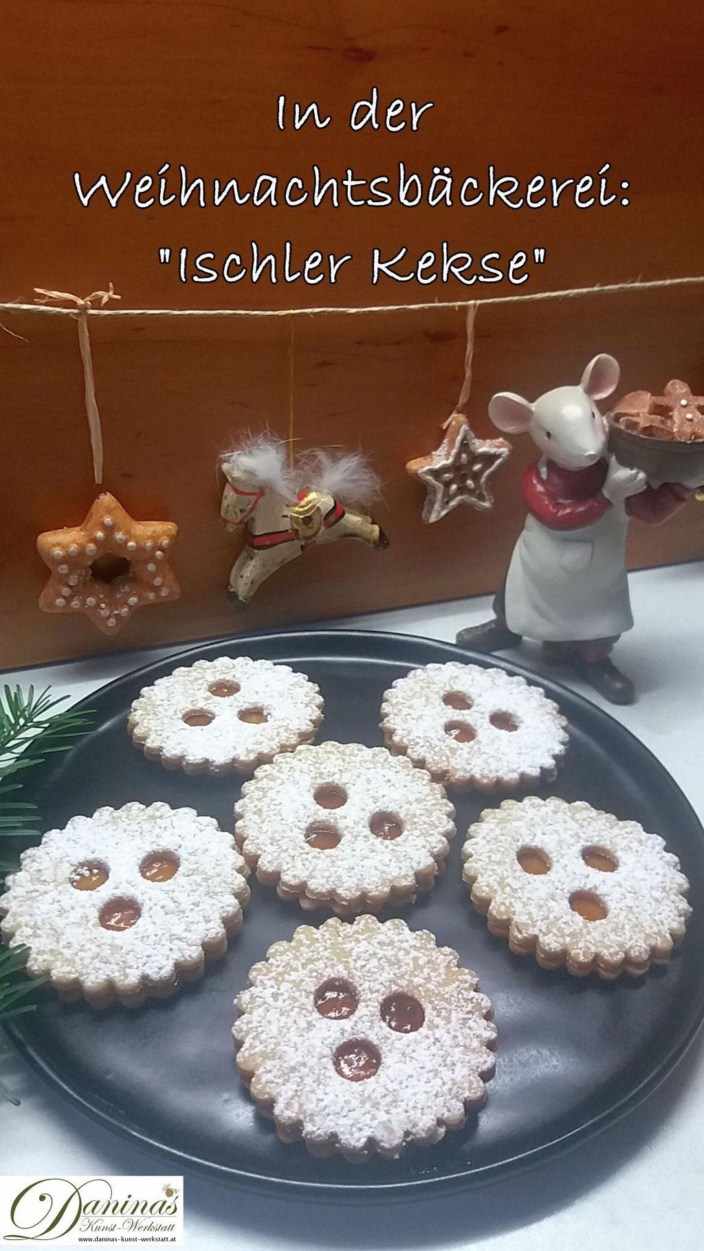Traditionelle Weihnachtskekse österreich.Ischler Kekse Daninas Kunst Werkstatt