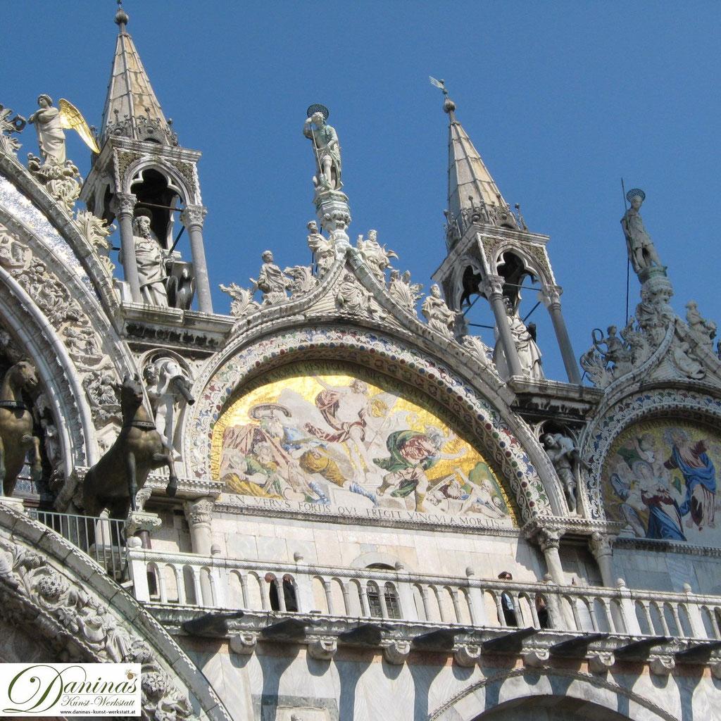 Venedig Markusdom Detailansicht
