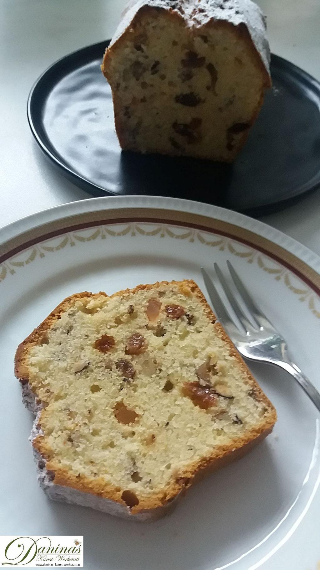Englischer Teekuchen Konditorrezept
