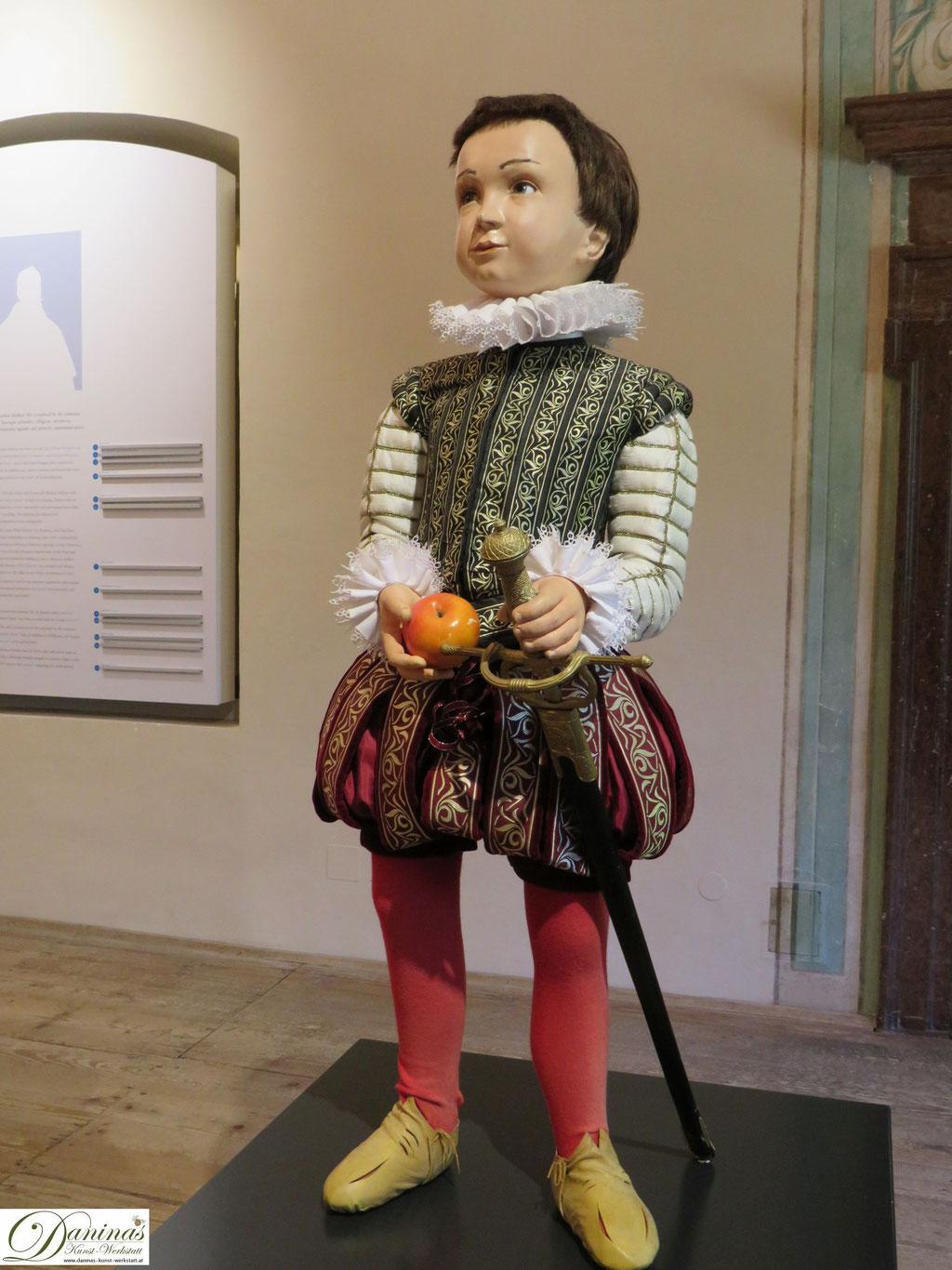 Fürsterzbischof Markus Sittikus als Kind. Schloss Hellbrunn in Salzburg