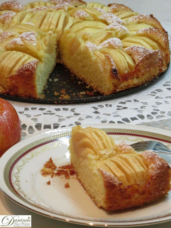 Backrezept: Feiner Apfelkuchen