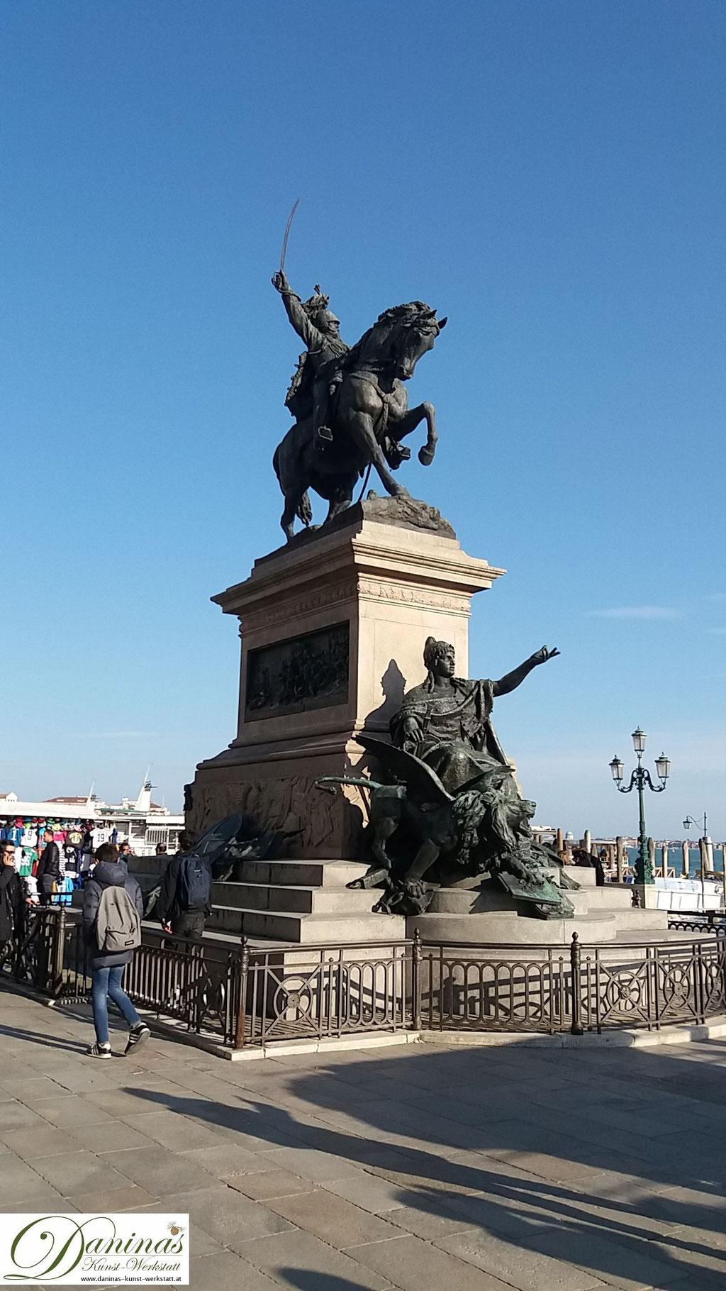 Venedig San Marco - Victor Emmanuel II Denkmal