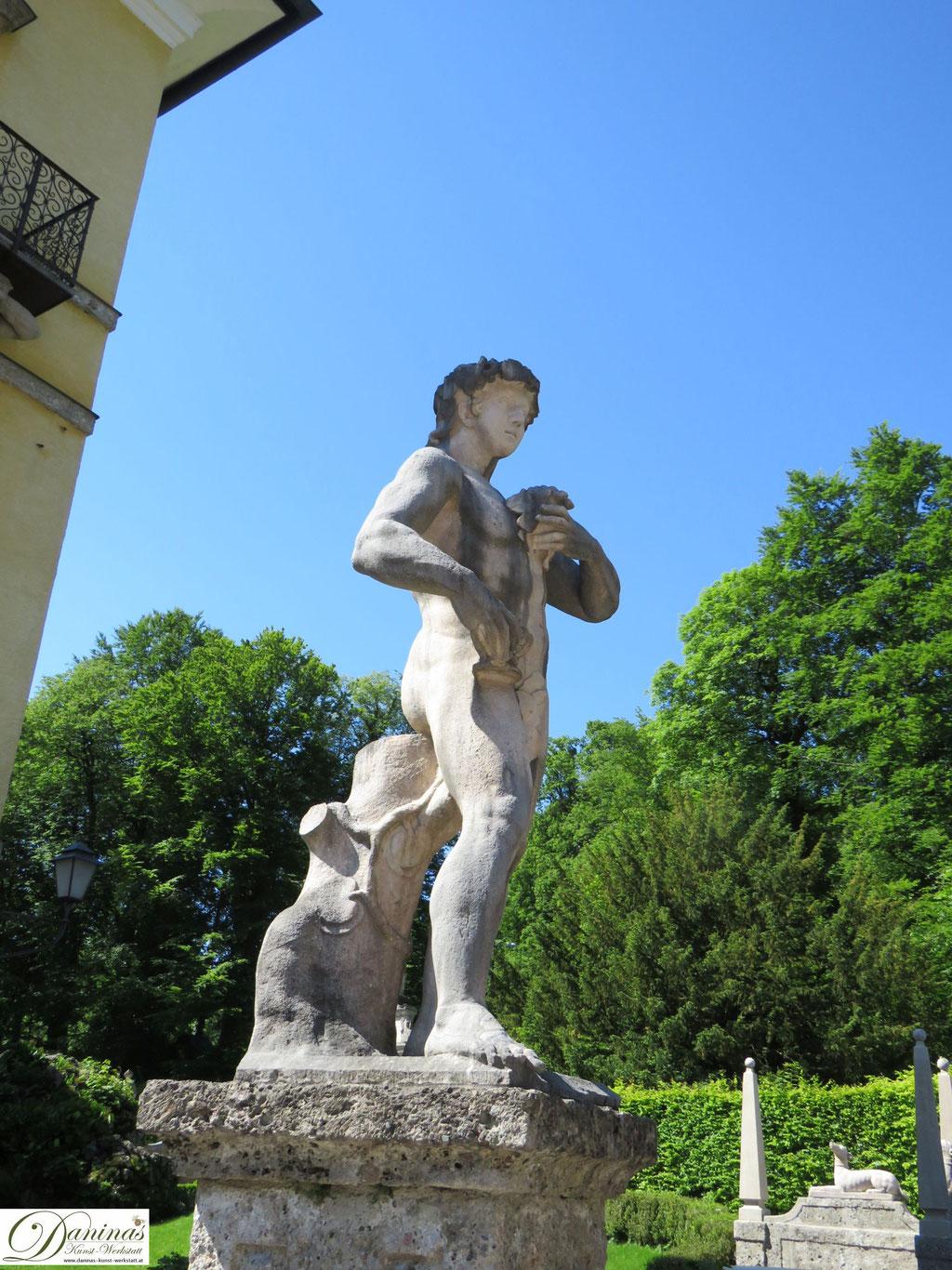 Skulptur - Hellbrunner Wasserspiele in Salzburg