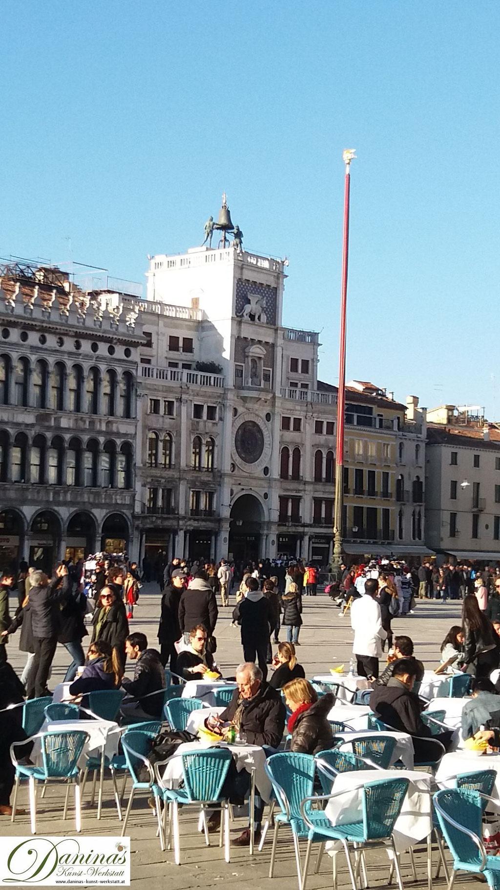 Venedig San Marco Uhrturm Torre dell´Orologio