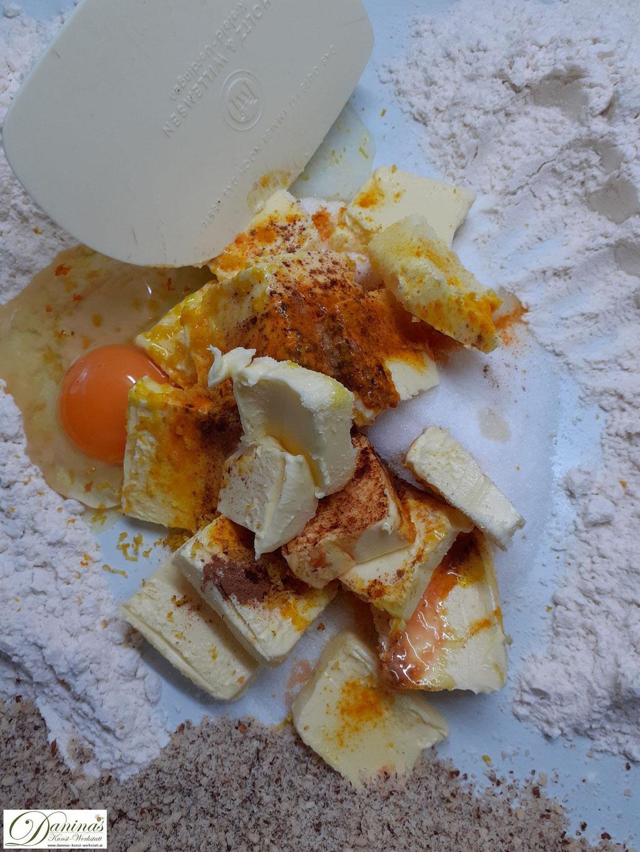 Linzer Plätzchen Nuss-Mürbeteig Zubereitung