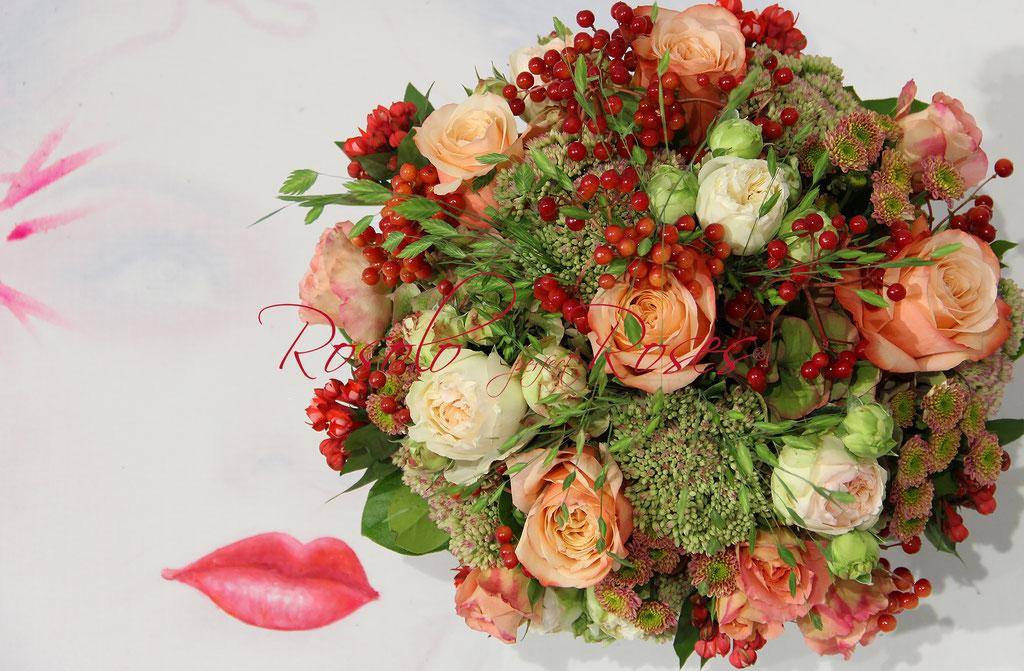 SEPTEMBRE: bouquet raffiné