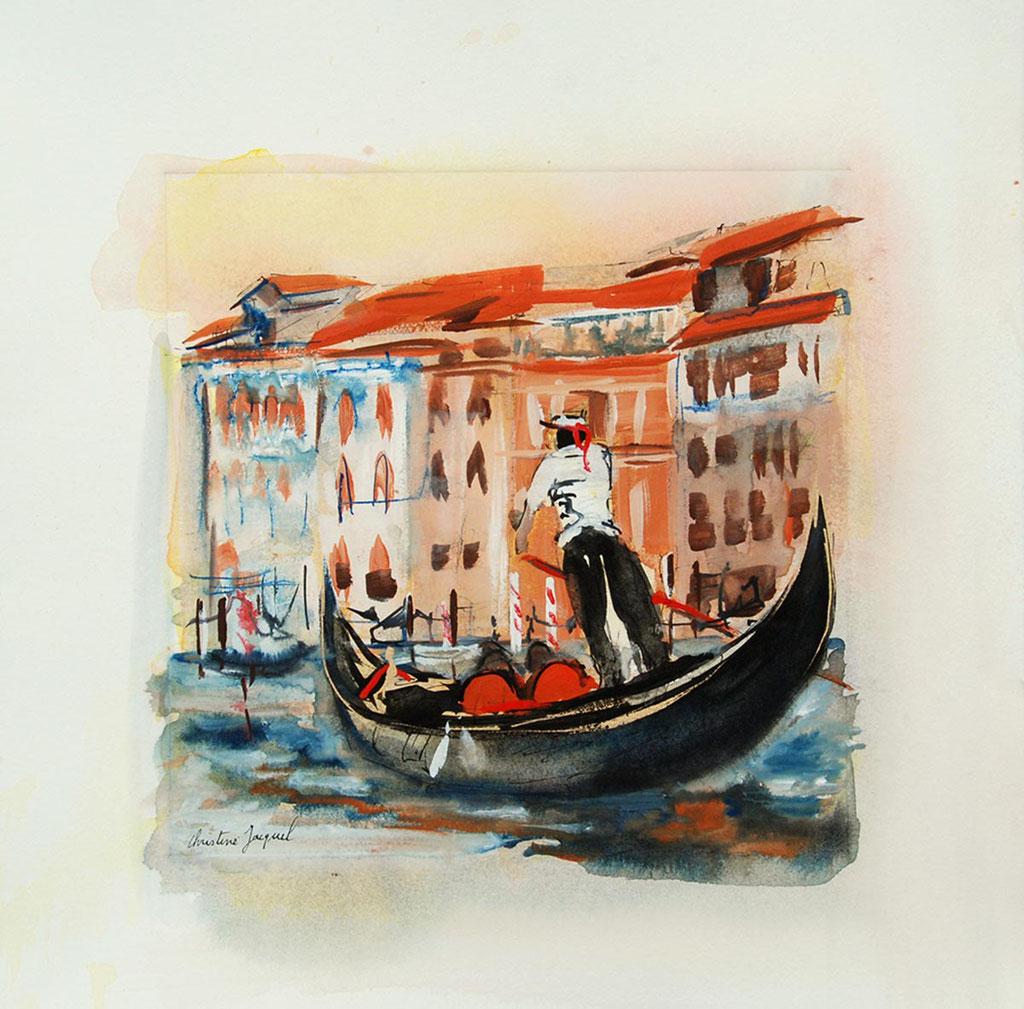 Lagune à Venise