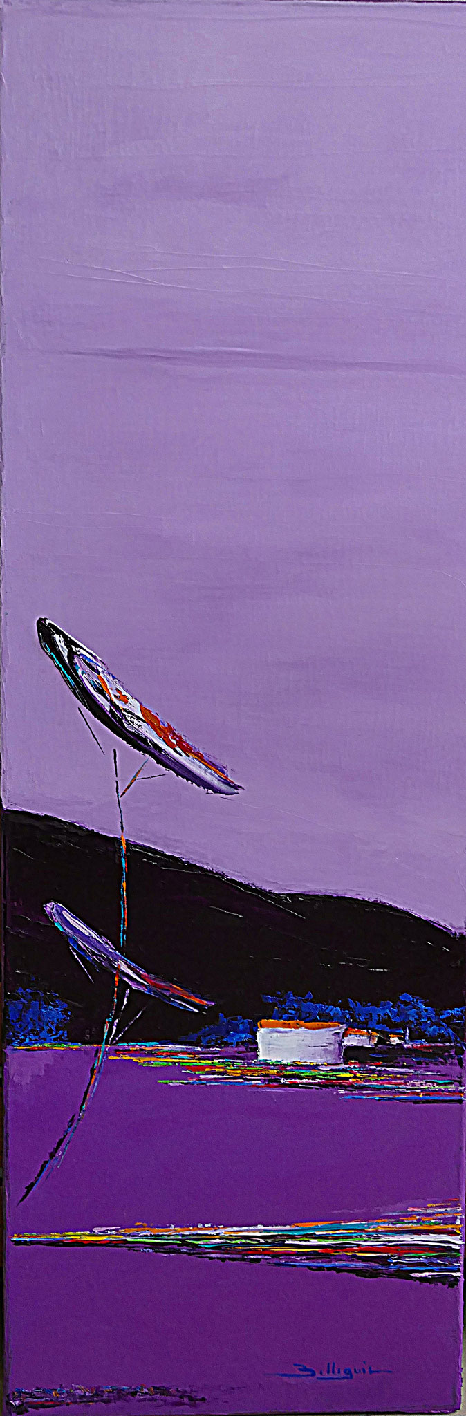 alain-belleguie-lavandes H / T  90 cm x 30 cm