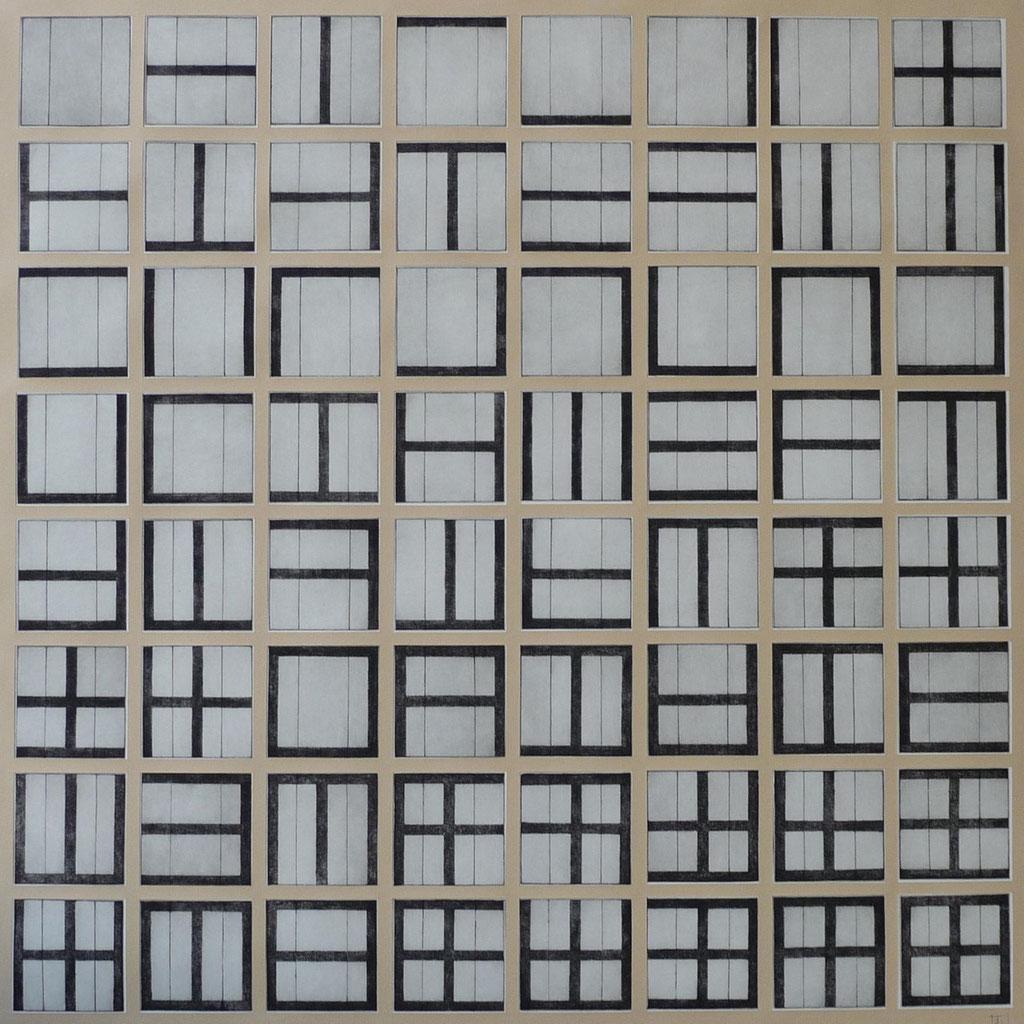 """""""Gemeinsamer Weg"""" 86 x 86 cm"""
