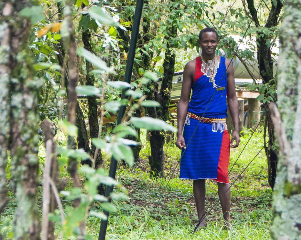 Portraits Fotografie in der Masai Mara in Kenia