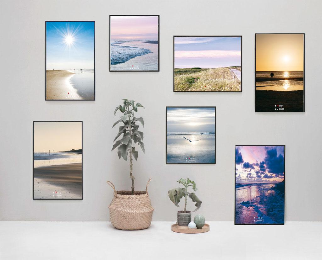 Limitierte Fotografien Langeoog