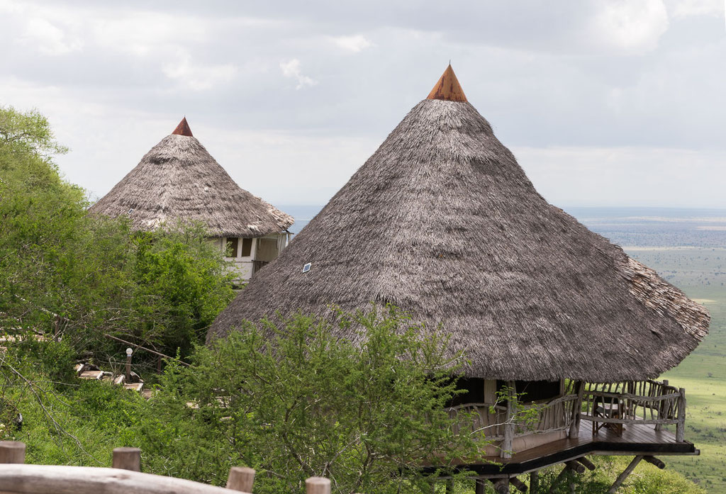 Hotelfotografie Lions Bluff Lodge, Kenia