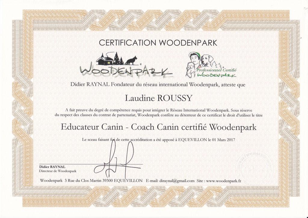 ec chiens certification educateur canin et coach canin professionnel certifié woodenpark pour pouvoir donner des cours en education canine