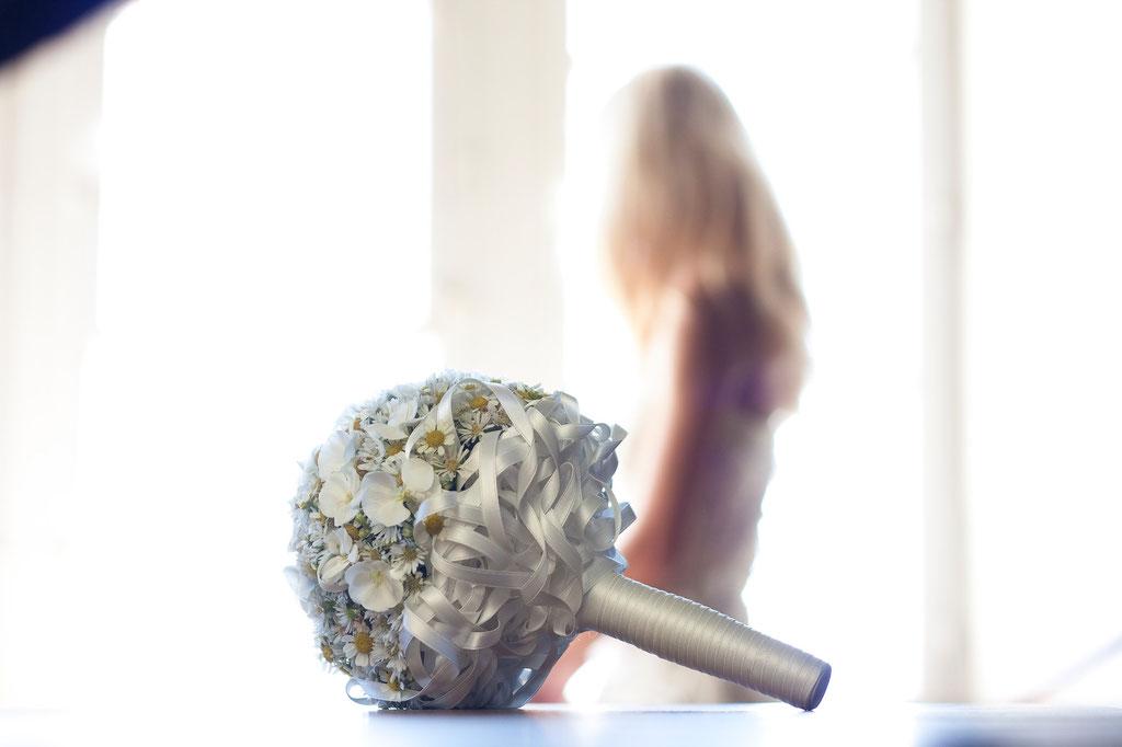 Brautstrauss mit weissen Phloxblüten  |  260 CHF