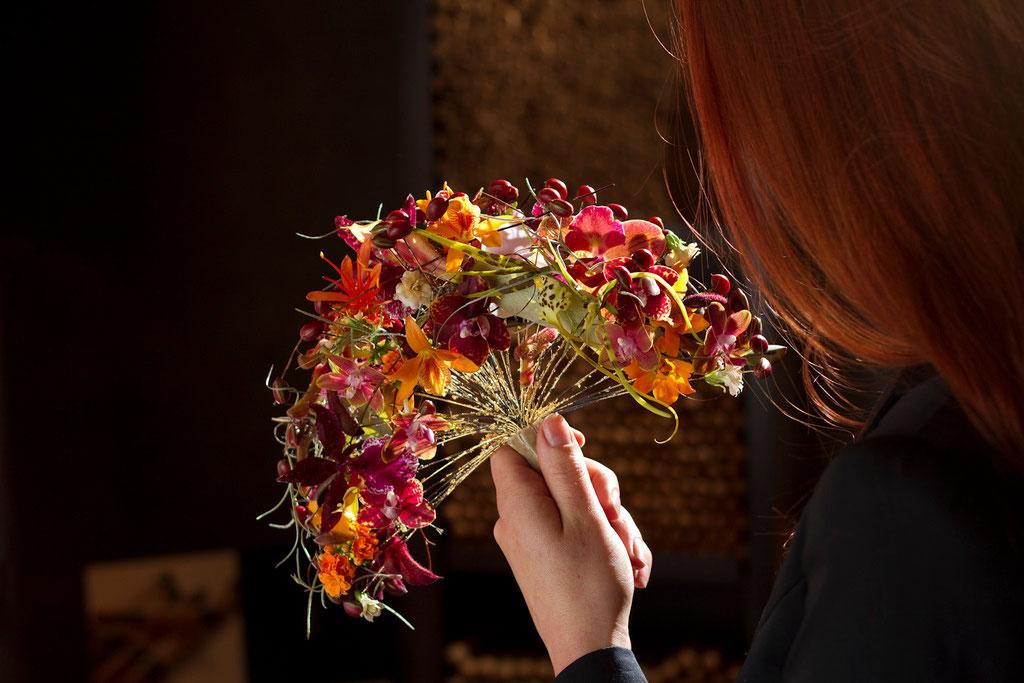 Brautstrauss 'Blütenfächer'  |  260 CHF