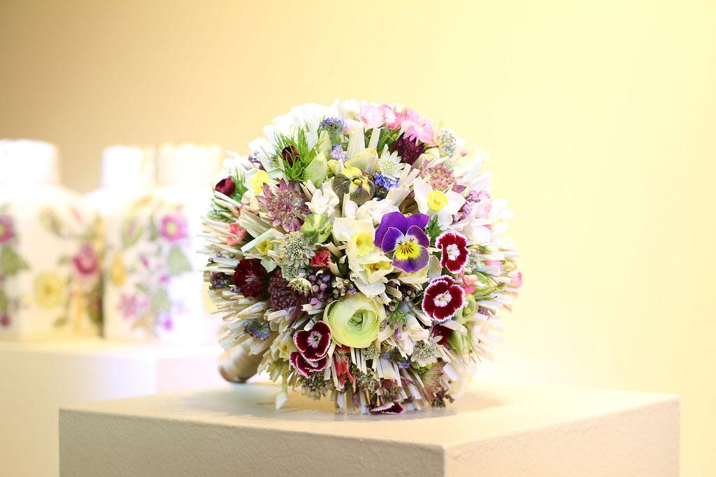 Brautstrauss mit japanischen Stäbchen  |  240 CHF